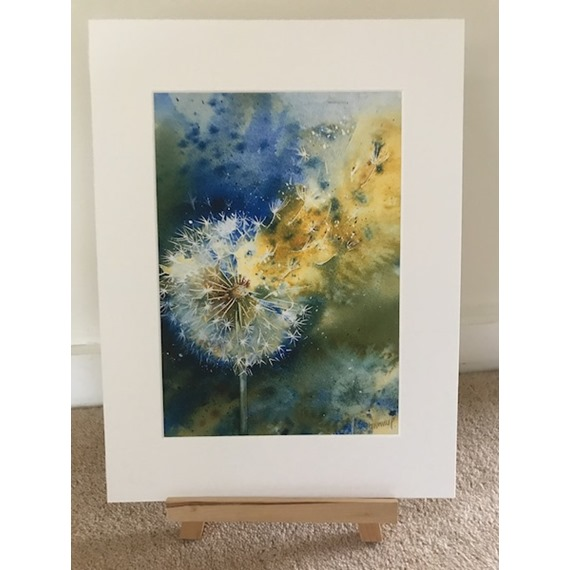 Time Flies - Watercolour print and cards
