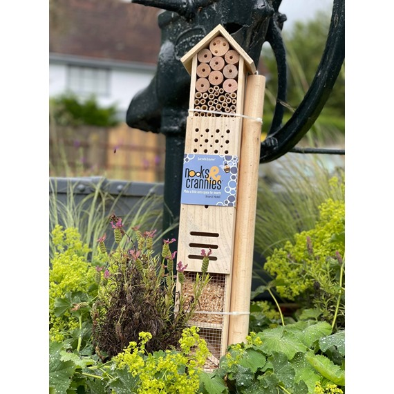 Nooks & Crannies Insect Hotel