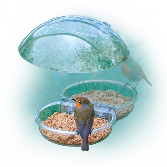 I ❤ Robins Window Feeder