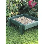 Ground Feeding Tray - Green Woodlook
