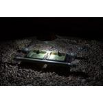 Illuminated hedgehog feeder designed by Simon King