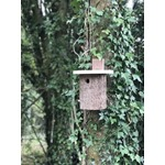 Natural Log Robin Nest Box