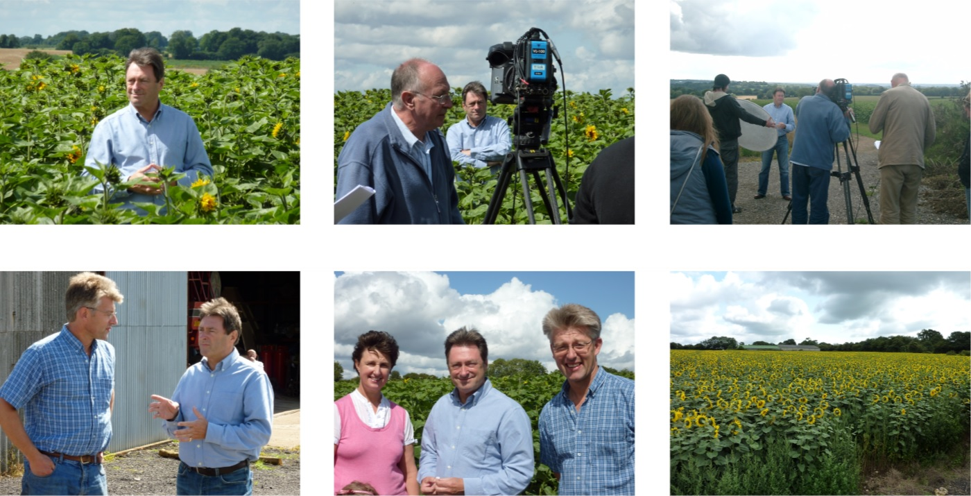 Alan Titchmarsh visits the farm