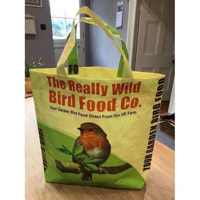 Really Wild Bird Food shopping bag