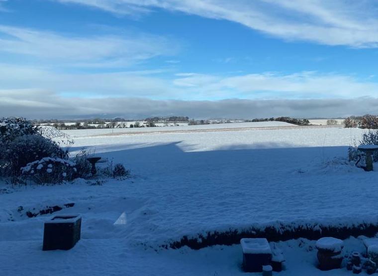 Snow on Street End Farm
