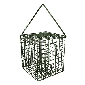 Caged Bird Feeder for Fat Balls